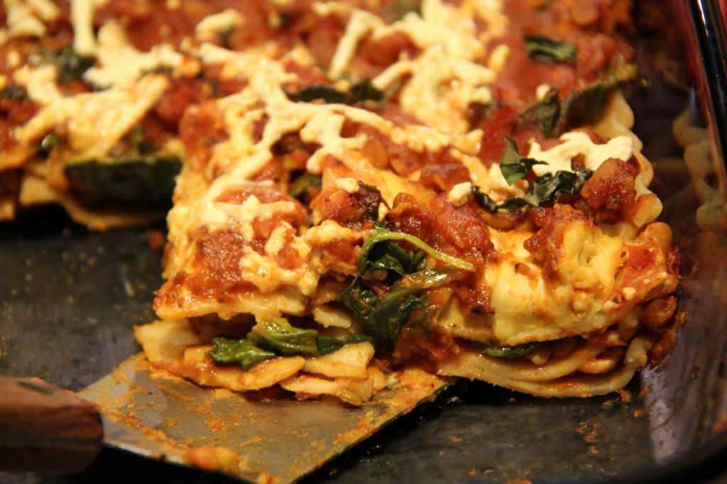 ... Vegan Spinach Lasagna – It's REALLY Good! | Gluten-Free Vegan Me